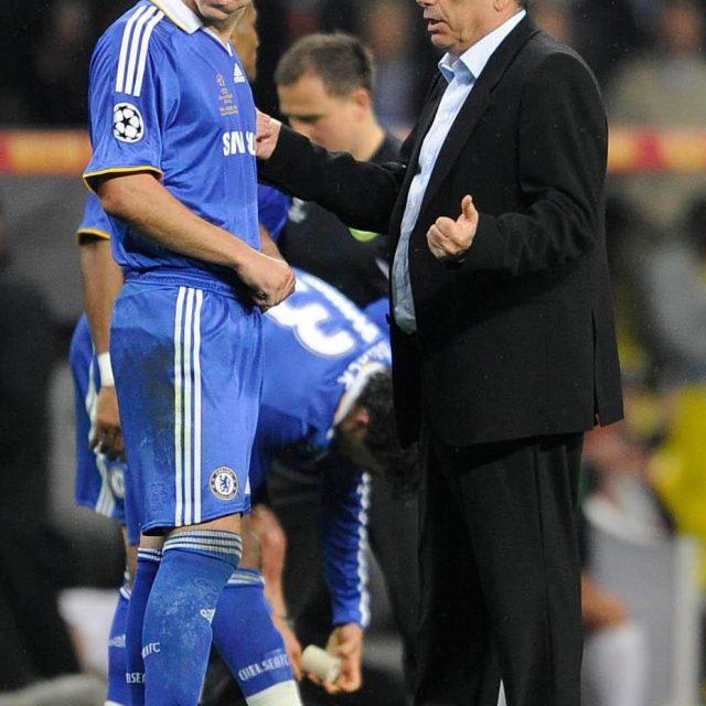 Ex-Chelsea boss Avram Grant ran for his life
